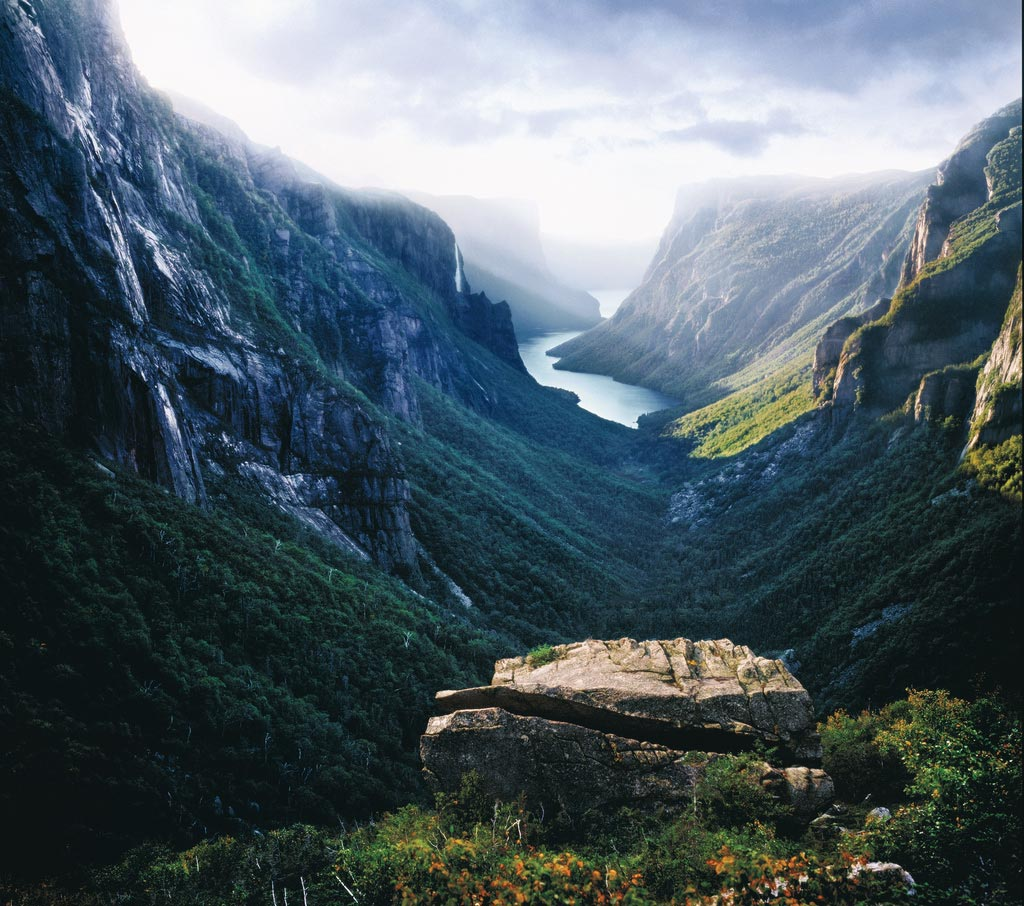 Le gros morne - photo panoramique