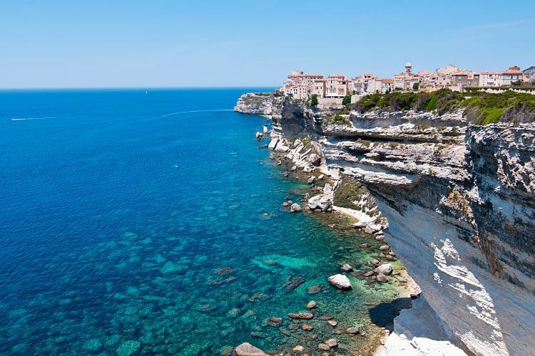 Corse du sud - Falaises de Bonifacio