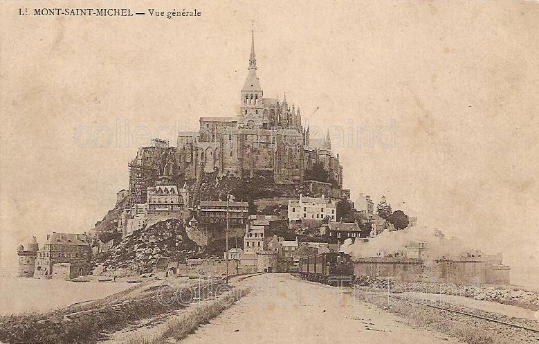 Mont-StMichel carte postale