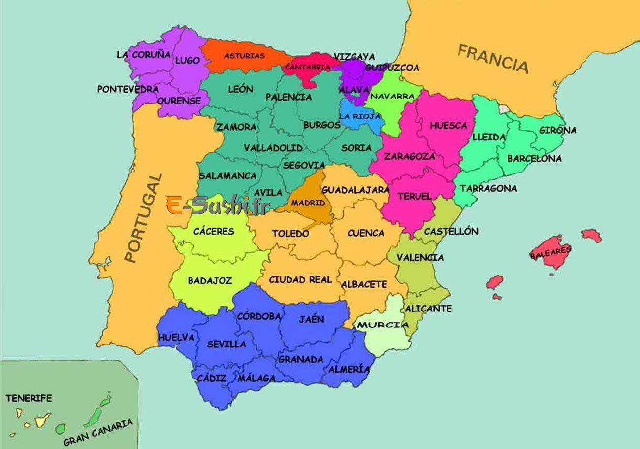 Carte-Espagne
