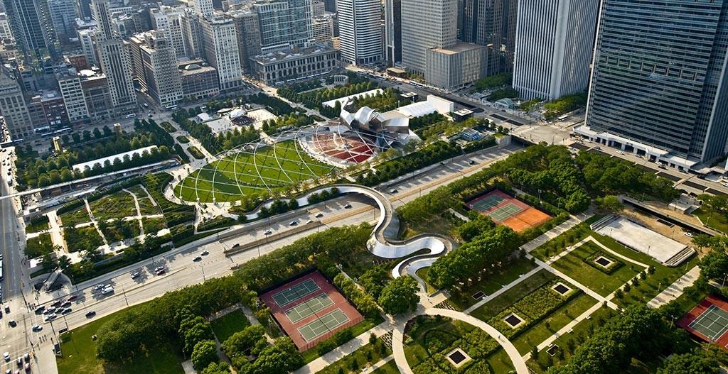 Chicago -Millennium Park