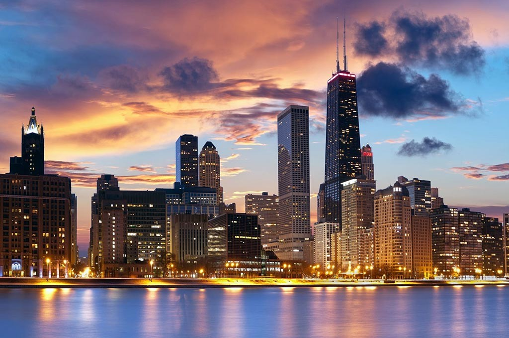 Chicago - Photo de nuit