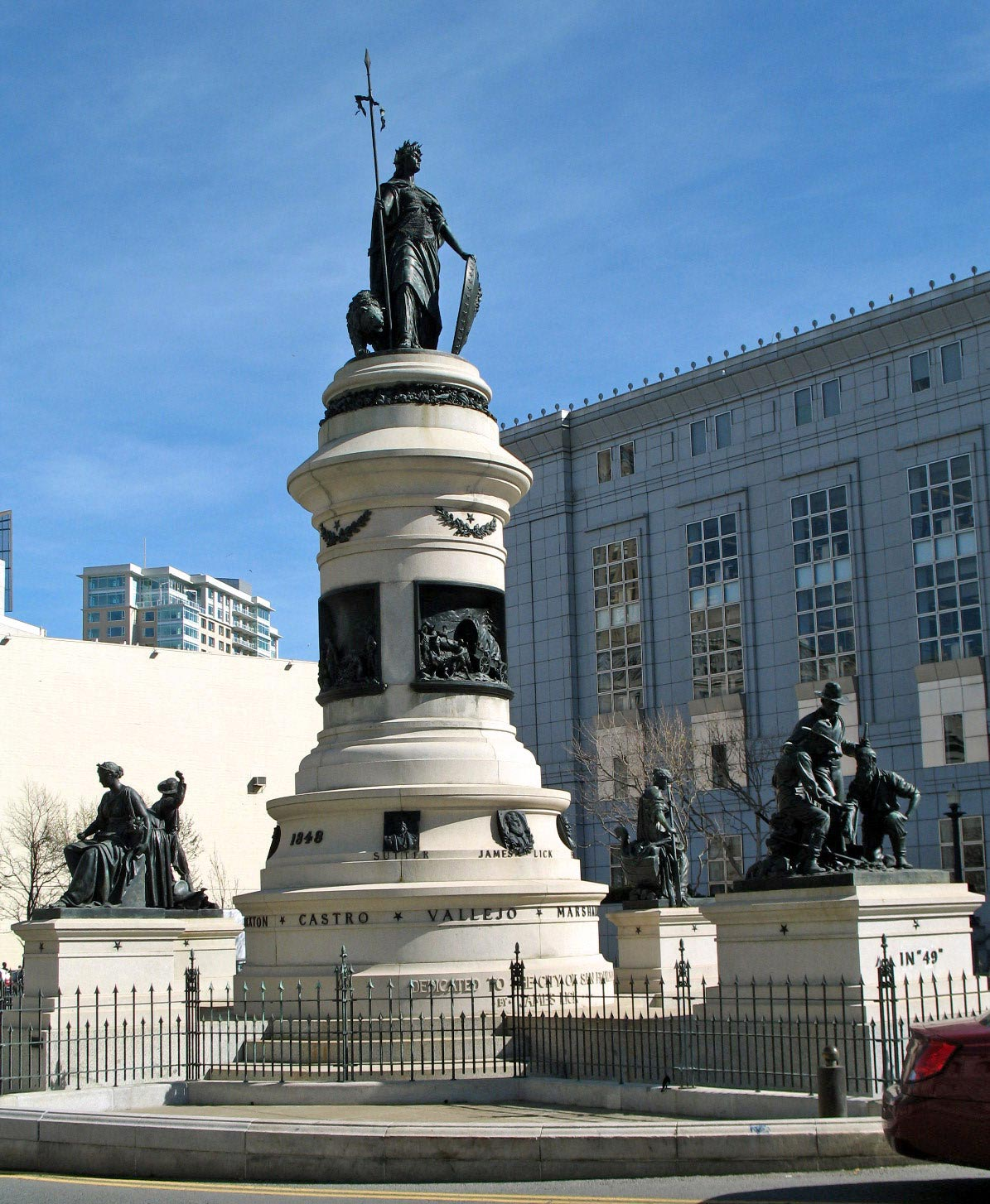 James Lick Memorial - San Francisco Monument