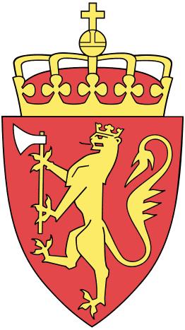 Blason de la Norvège