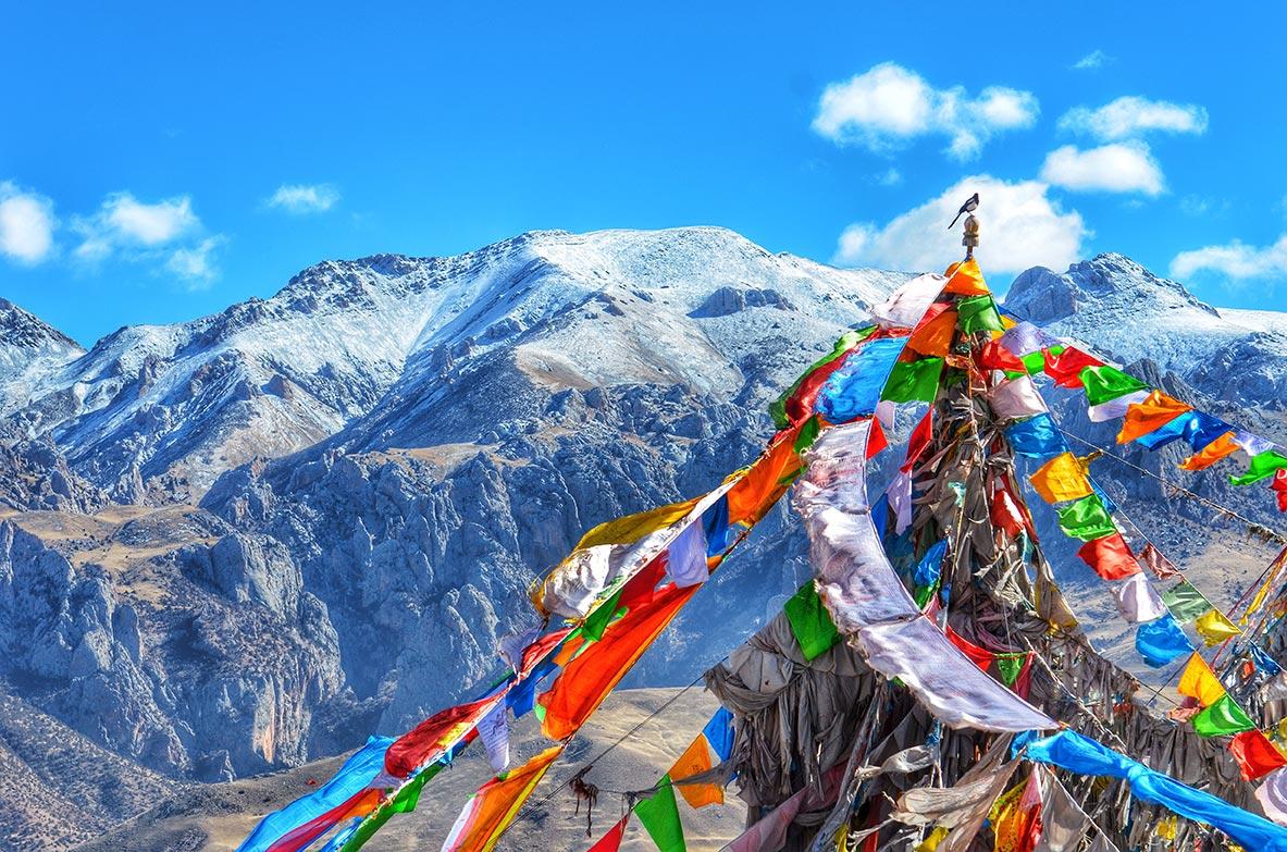 Montagne du Tibet