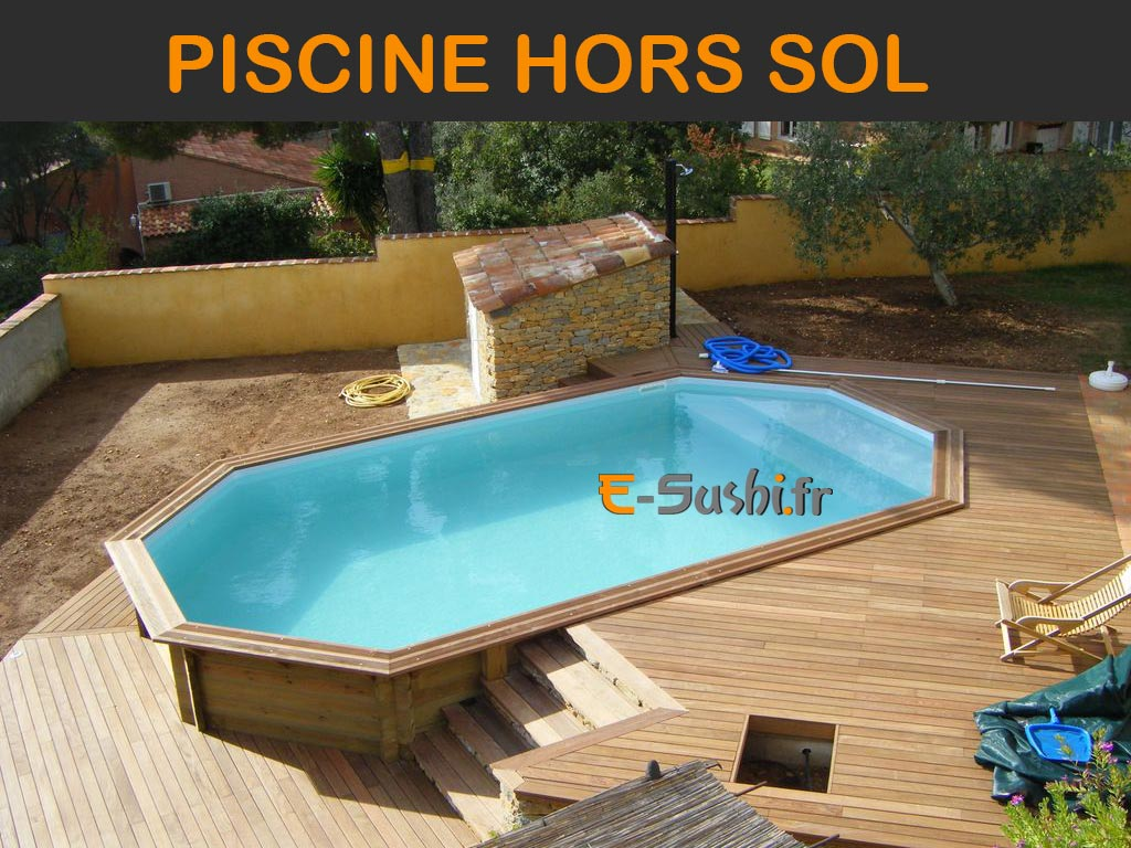 Piscine Tubulaire Terrasse Bois piscine hors sol - images et photos - arts et voyages