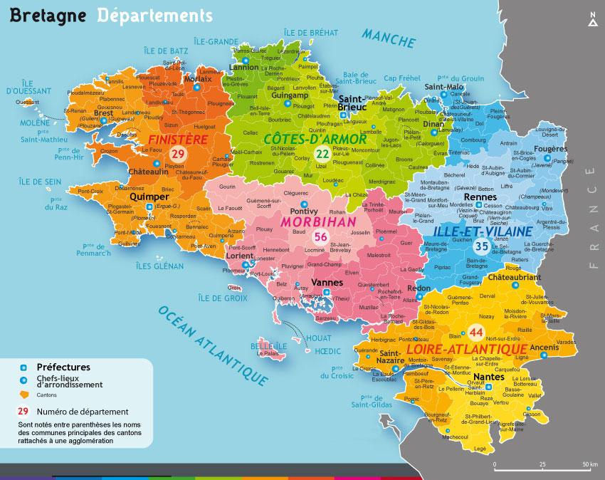 Carte Du Nord Avec Toutes Les Villes