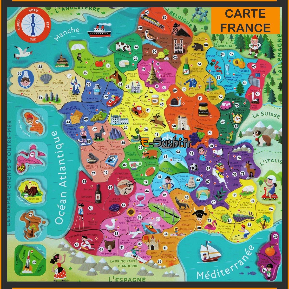 Carte de France Images et Photos - Arts et Voyages
