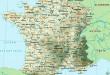 Carte de France - Villes
