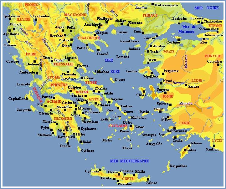 Gr 232 Ce Carte Et Plan Images Arts Et Voyages