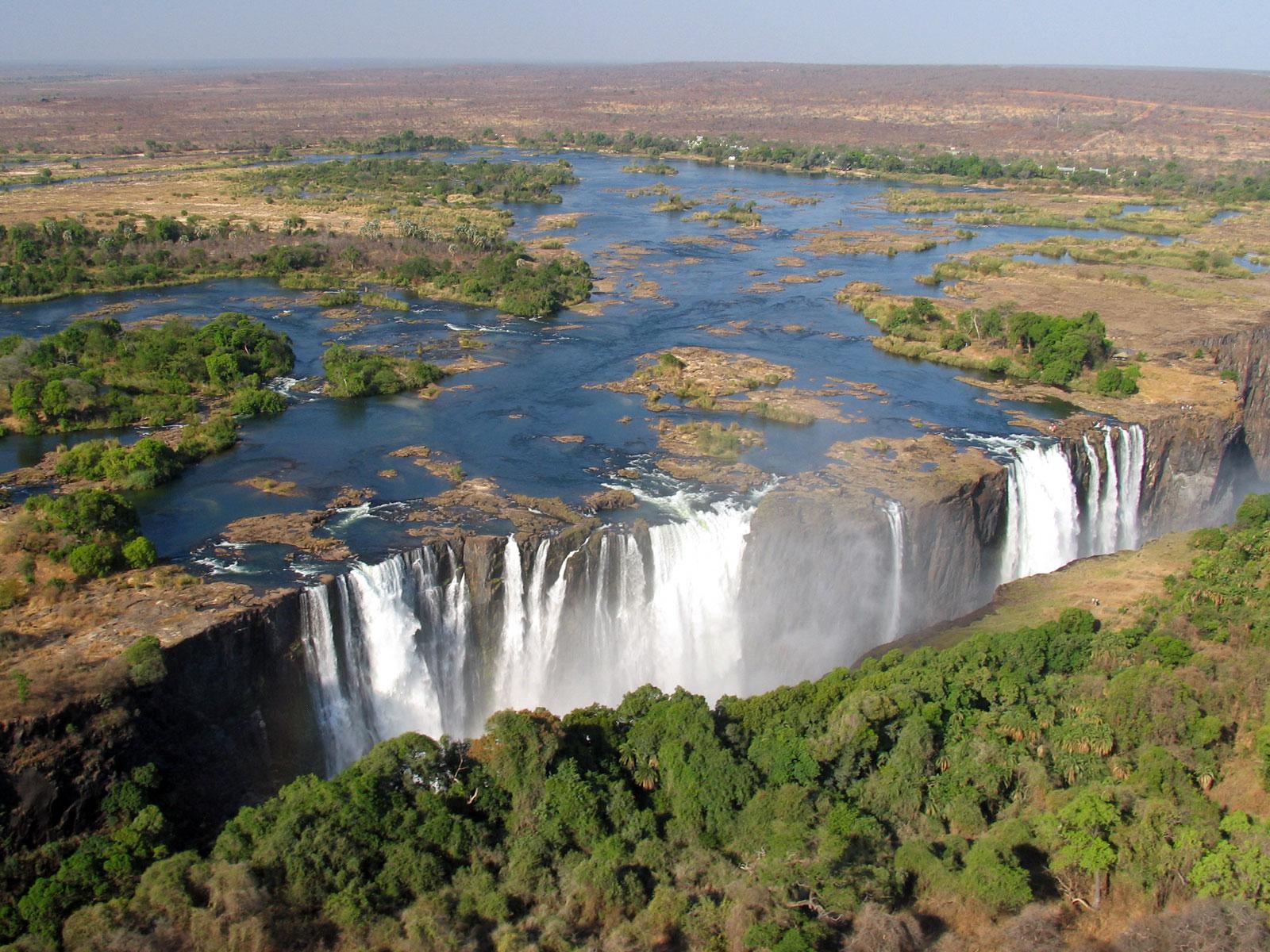 les chutes victoria zimbabwe