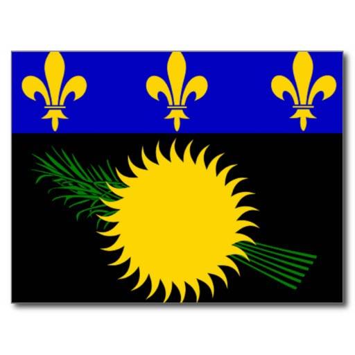 Le drapeau de la guadeloupe