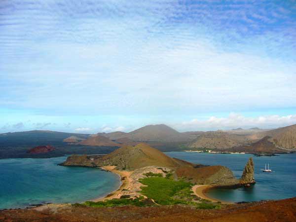 Ile de Bartolomé aux Galapagos