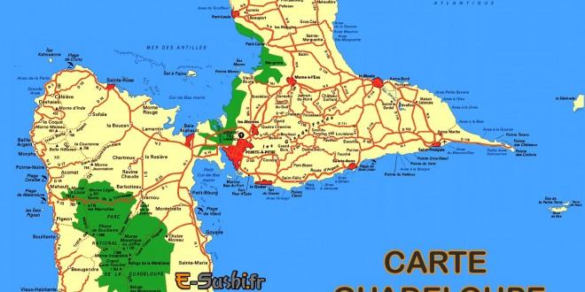 Guadeloupe Carte