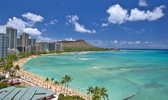 îles Hawaïennes - Pacifique nord