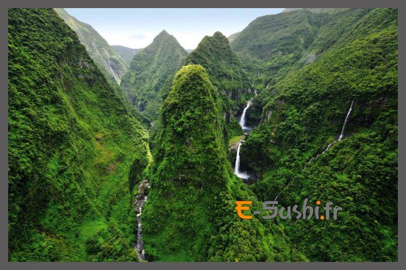 Ile de la réunion - cascade de Takamara