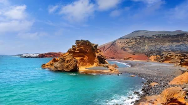 Les Canaries - Ile de Lanzarote - Plage