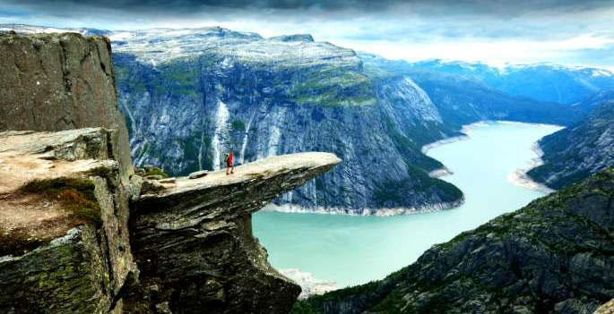 Fjord Norvège - Trek