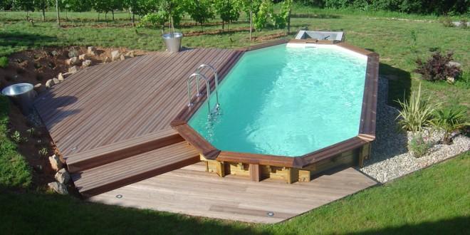 Infos sur piscine semi enterree en acier arts et voyages for Piscine metal rectangulaire