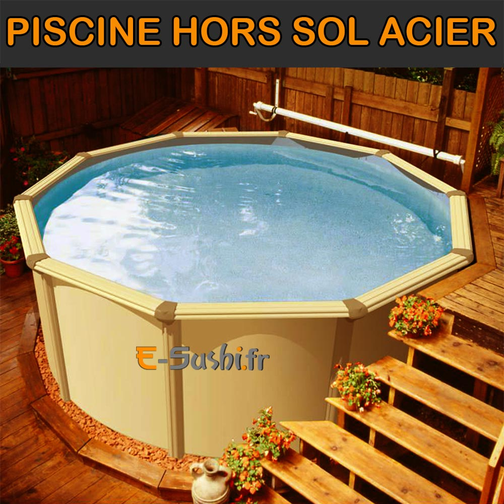 piscine hors sol semi enterr e acier id e. Black Bedroom Furniture Sets. Home Design Ideas