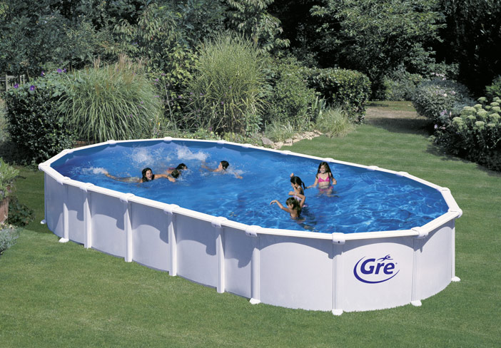 Piscine hors sol metal for Piscine hors sol resine