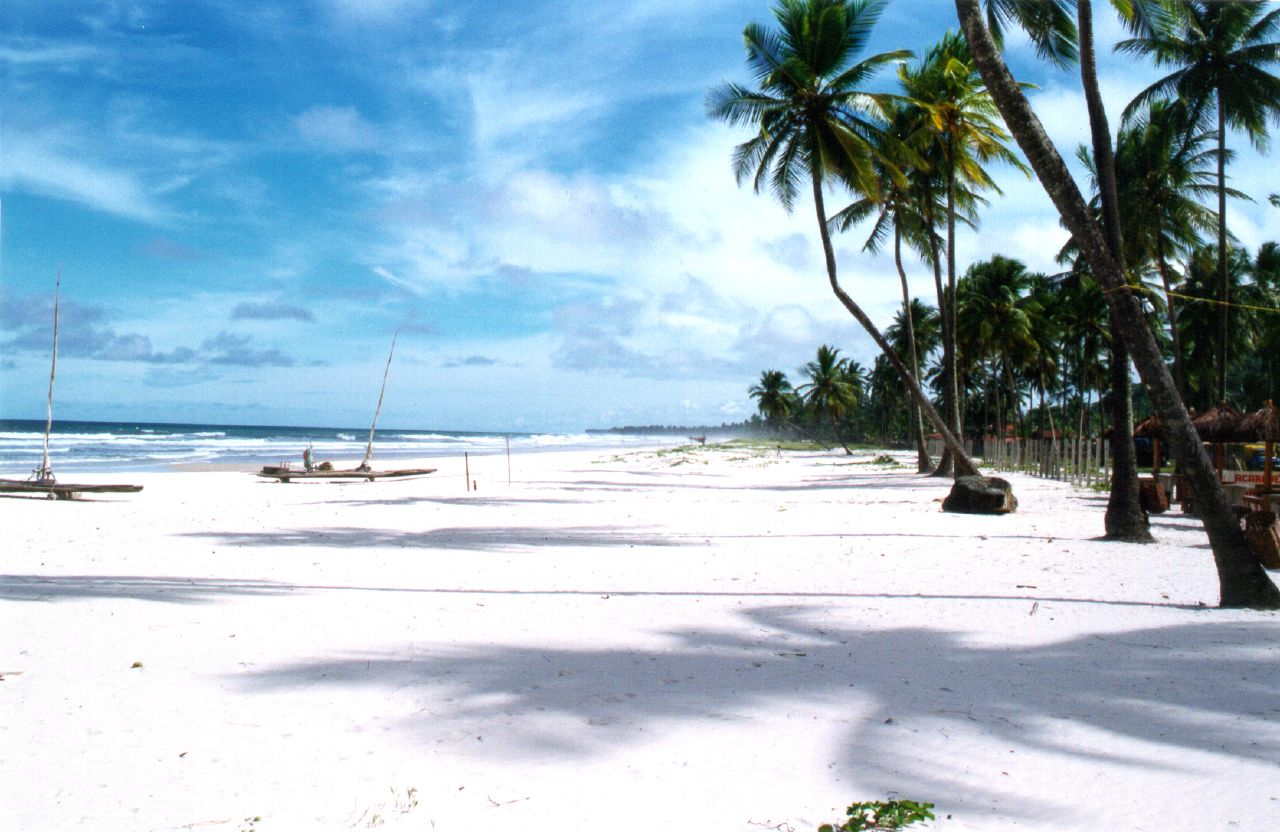 Photo d'une plage au Brésil