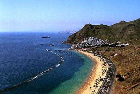 plage des canaries - playa las teresita