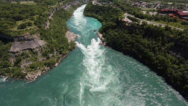 La rivière du Niagara de New York