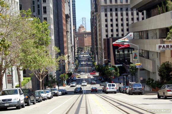 Une rue de San-Francisco