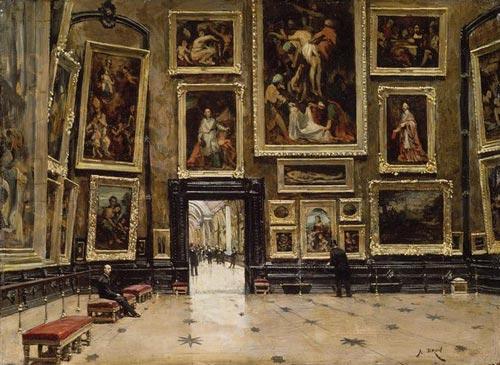 Mus e du louvre images et photos arts et voyages for Le louvre interieur