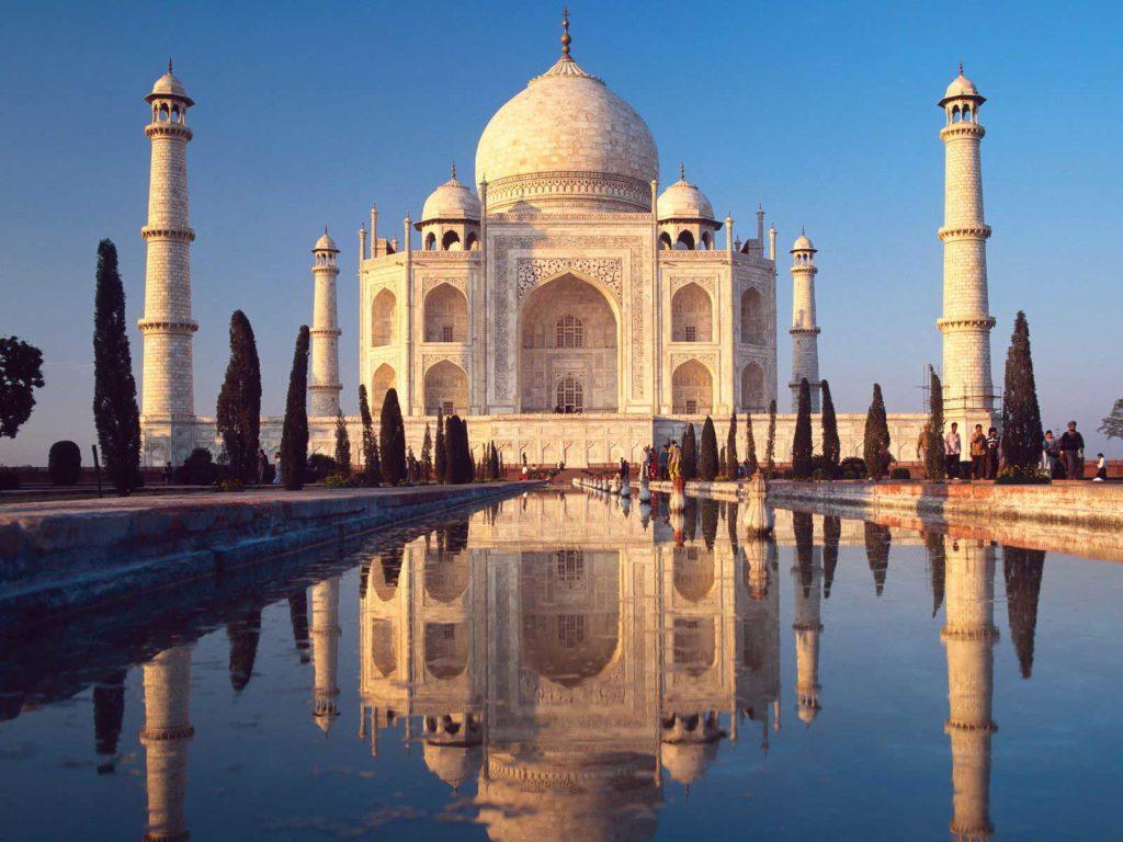 Inde - Photo du taj-mahal
