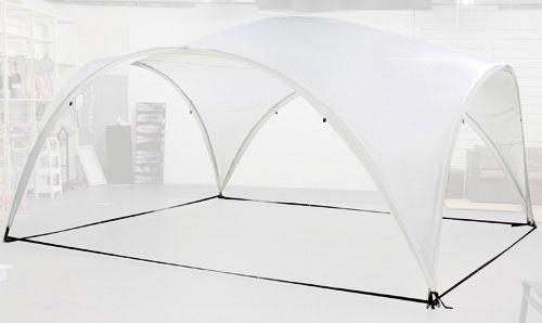 Tente de jardin Casa avec ombrage