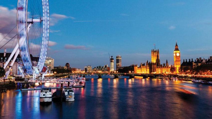 photo Londres de nuit