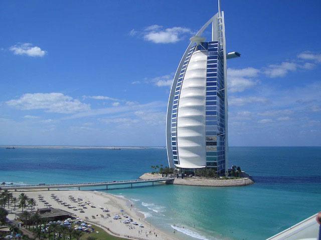 Burj Al Arab, meilleur hôtel du monde