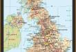 Carte Angleterre