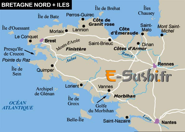 Villes Bretonnes Liste