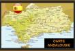 Carte Andalousie