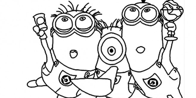 minion scarlet overkill coloring pages | Minions Scarlet Overkill Coloring Pages Coloring Pages