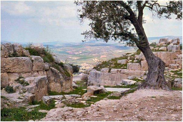 Paysage du territoire d'Israel