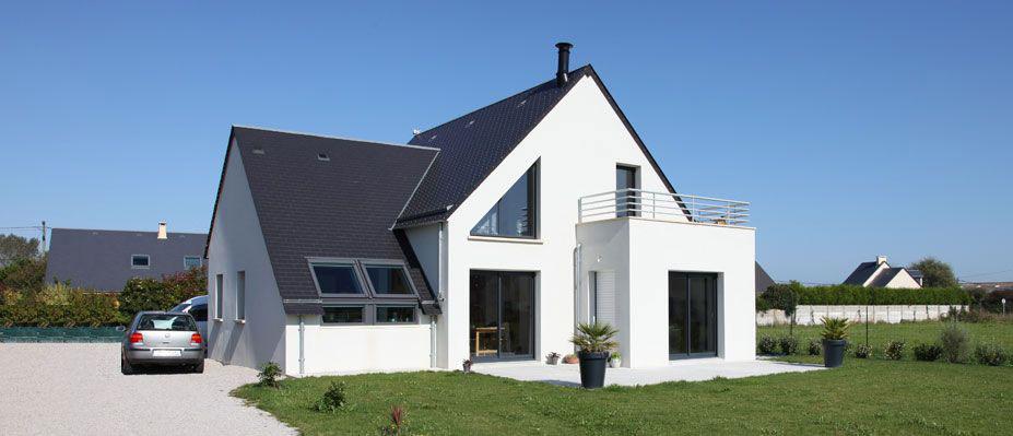 Maison traditionnelle et individuelle dans la manche