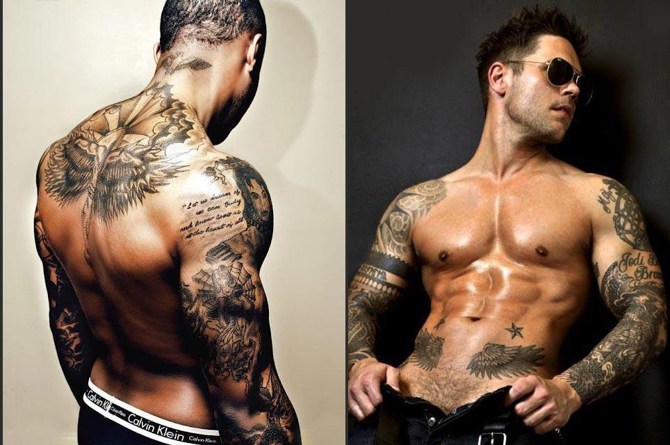tatouage homme - images et photos | arts et voyages