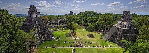 Photo du Temple en ruines à Tikal