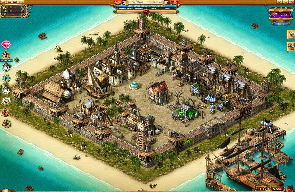 Pirates: Tides of Fortune Game Haven