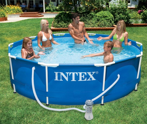 Piscine intex tubulaire 3 05