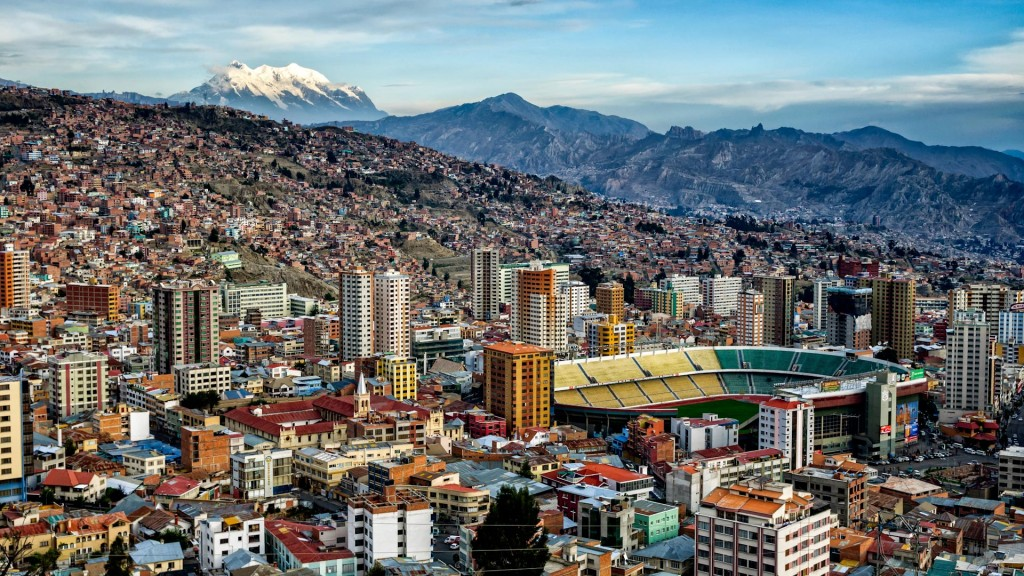 La Paz - Capitale de Bolivie