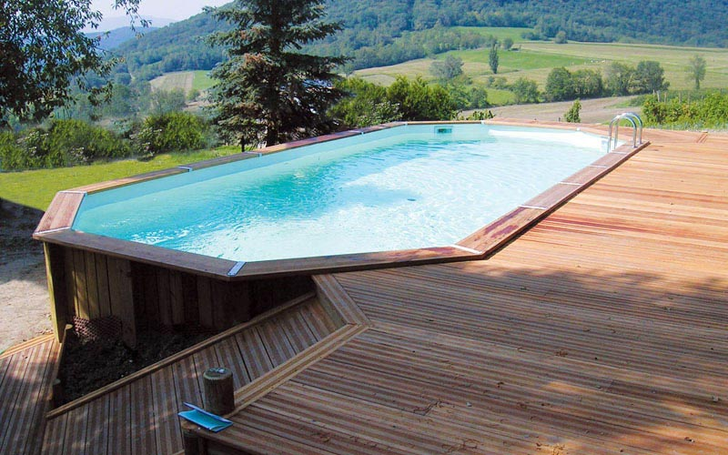 piscine bois images photos 2015