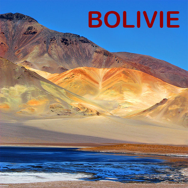 Paysage de Bolivie