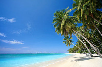 Une plage des Bahamas