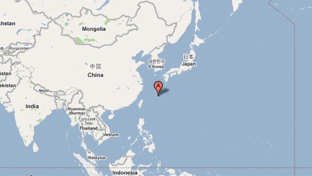Japon sur la carte du monde