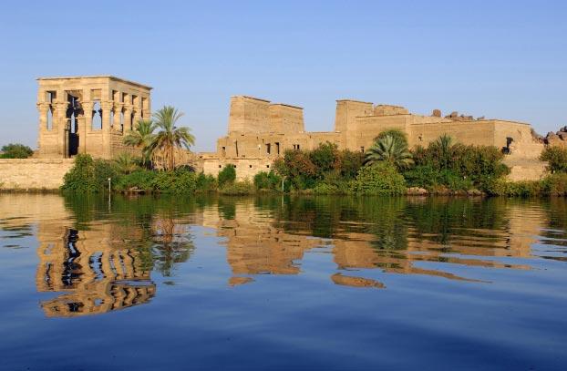 Photo du temple Assouan